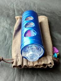 Color Aluminum Hookah --glass hookah smoking pipe Glass gongs - oil rigs glass bongs glass hookah smoking pipe - vap- vaporizer