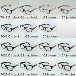 More Style Mix Wrap Leather Legs Optical Frames Plastic Glasses Frames Hand Made Korea Style Glasses Frames