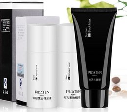 Wholesale PILATEN Blackhead Remover Mask Black Head Export Liquid Skin Compact Toner Pilaten Pore Cleaner Set