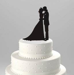 Black acrylic cake, wedding card, wedding cake, decorations, dessert, table setting, decorations, kisses