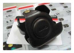 Funda de cuero para cámara Funda de cuero suave para funda para Canon G11 G12