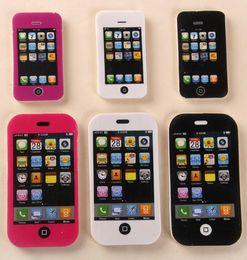 Enfants mignons effaceurs en Ligne-2016 hot sal iPhone téléphone mobile Cute Kawaii Matchs Eraser Lovely Colored Eraser pour les enfants Étudiants Creative Item Gift
