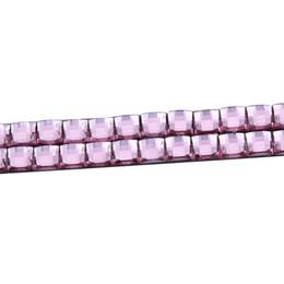 Wholesale 20 Pairs Fashion Pink D Car Diamond Eyeliner Decal Headlight Stickers Automotive Logo Eyelashes Fashion New Brand