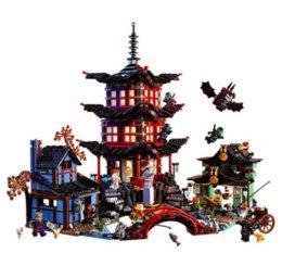 Wholesale 2150pcs Compatible Ninja Temple d Airjitzu construction de briques jouets Ninja Figure pour les enfants m357 en gros