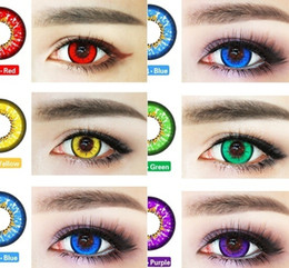 Wholesale US Stock Bella Sky Series Cosplay Super Colored Cosmetic Eye Contacts Beauty Colorful Eye Makeup