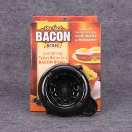 Wholesale Perfect Bacon Bowl Kitchen Baking Mould Eec Friendly Salad Bowls Tray Cook To Perfection In Oven Toaster Microwave Taste Better nf