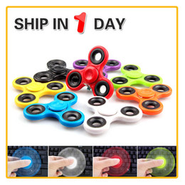 Tri Spinner Fidget Toy Fidget Spinner Hand spinner Prime Fidget Spinners Handspinner Fingertips EDC Colorful Bearings Spinning top WITH BOX