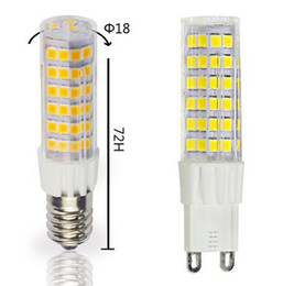 LED lights lamps E14 lamp LED lamp replacement AC220V led light general low silica corn 7W lamp light bulb G9 7W SMD2835