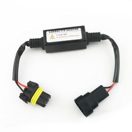 2017 las luces de carga 2PCS / LOT de advertencia del coche de la cancelación del condensador de la cancelación libre de la carga LED Decodificador de Canbus para 9006 Luz de niebla descuento las luces de carga