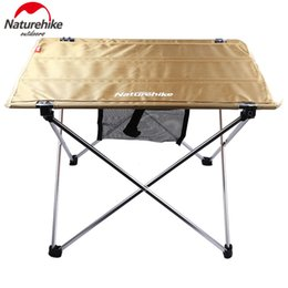 Wholesale NatureHike Outdoor Adjustable Folding Table Portable Picnic Camping Fishing Hiking Garden Trip Utility Chairs