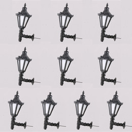 Wholesale Model Railway Led Lamppost Lamps Wall Lights G Scale V Warm White