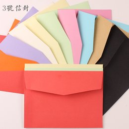 Wholesale Bei Xiang No paper envelope series color envelope envelope solid blank Postcard envelope