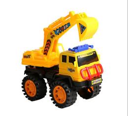 2017 al por mayor de la ingeniería Pequeños niños arrojando juguetes de ingeniería de vehículos deslizantes excavadora mezclador de camiones - modelos de modelos de camiones al por mayor al por mayor de la ingeniería limpiar