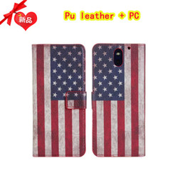 Wholesale HTC Desire restore ancient ways the flag stand wallet card phone cases cellphone cases business pure color American style mobile phone c