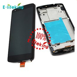 For LG nexus 5 D820 D821 frame LCD display touch screen with Digitizer + Beze Frame + Tools Free with &without frame DHL Free shipping