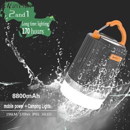 2017 altos tiendas de campaña ¡Gran venta! High Lumens Portable linterna de camping al aire libre de senderismo tienda de campaña de luz LED de suspensión de la lámpara de emergencia con la manija altos tiendas de campaña en venta