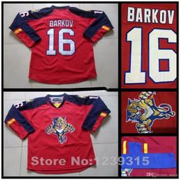 2016 New, Florida Panthers Jerseys #16 Aleksander Barkov Jersey Home Red Anthentic Cheap Aleksander Barkov Hockey Jerseys Embroidery L