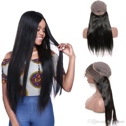 Top Quality 130% Density Lace Front Human Hair Wigs For Black Women Straight Brazilian Remy Hair Natural Black Color Free Shipping