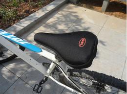 Almohadilla para el ciclismo en venta-Más nuevo al aire libre bicicleta de silicona bicicleta bicicleta suave grueso gel sillín asiento almohadilla cojín almohadilla piezas de bicicleta deportes al aire libre