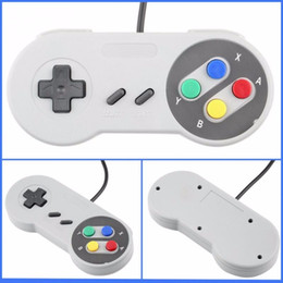 Descuento pc joystick Controlador USB Gamepads Controladores de PC Joypad Joystick Raspberry pi 3 USB Reemplazo para Super Nintendo SF para SNES Windows MAC
