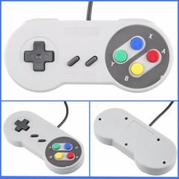 Joystick usb en Línea-Controlador USB Gamepads Controladores de PC Joypad Joystick Raspberry pi 3 USB Reemplazo para Super Nintendo SF para SNES Windows MAC