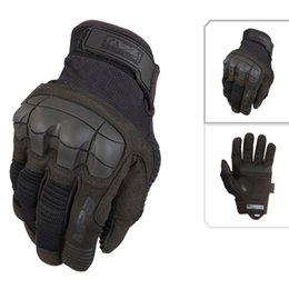 Wholesale Mechanix Wear M Pact Tactical Gear Gloves Army Paintball Airsoft Outdoor Sport Shooting Motorcross Carbon Knuckle Full Finger Gloves