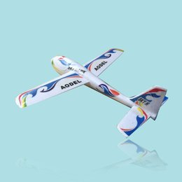 2017 planeadores de bricolaje Venta al por mayor S186 Throwing Glider aviones de montaje DIY juguetes educativos planeadores de bricolaje outlet