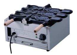 Promotion libre pc Livraison gratuite 3 pcs machine à crème glacée Taiyaki fabricant machine cône de poisson à vendre LLFA