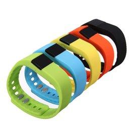Mi bracelet de bande en Ligne-Tw64 Smartband Bracelet Smart Bracelet Fitness Tracker Bluetooth 4.0 Fitbit Fex Regarder pour IOS Android Better than Mi Bande 0509022