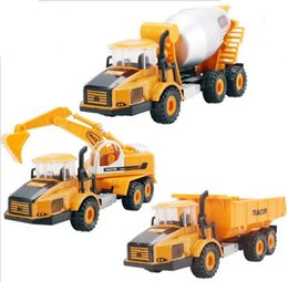 educational toys for children digger truck set model car