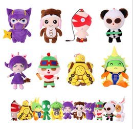 Wholesale League of Legends Plush Toy Dolls cm cm Blind Monk Kennan Anne Anti pet Timo Stuffed Animal Set of for Girls Boy Xmas Gift