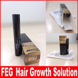 Wholesale FEG Hair Growth Solution for Regrow Missing Hair Cure Hair Loss Problem Alopecia FEG Thinning Hair Treatment