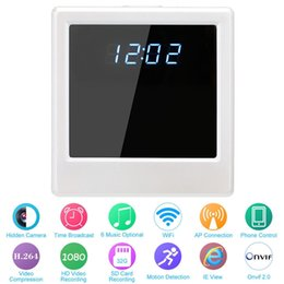 Descuento mini cámaras wi fi 32GB HD 1080P WIFI Reloj Videocámara Mini cámara escondida Spy Mini Nanny Dvr Video Grabador Wireless P2P Control remoto Wi-Fi Live View