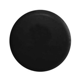 Wholesale Multiple Choice Any Pattern Customized DIY Vinyl PU Trailer Spare Tire Tyre Wheel Cover Pure Black Heavy Duty inches