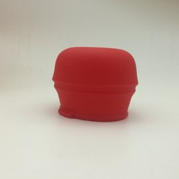 Wholesale Silicone straw Lids Converts any Cup or Glass to a straw Cup Makes Drinks