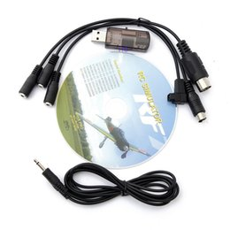 Wholesale in RC Flight Simulator Cable USB Dongle for G7 G6 G5 G5 Phoenix For Helicopter