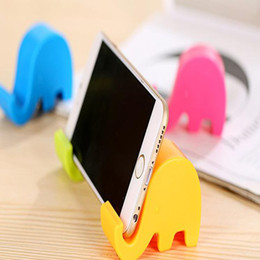 universal car phone holder chair mobile phone holder Foldable cell Mounts & Movie Base Collapsible Stand seat Elephants Animals for phone