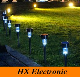 Wholesale LED Solar Lights Solar Lawn Light Plastic Garden Outdoor Sun Light Corridor Lamp Outdoor Garden Party Lamp Solar Powered Colored