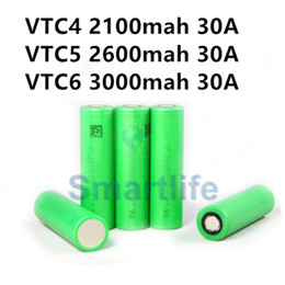Wholesale New Arrival rechargeable batteries for sony li ion battery US18650 VTC4 VTC5 VTC6 vs aa rechargeable battery Fedex free