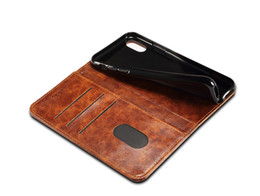 NEW Arrival Cell Phone X 8 Leather Cases with Phone Holders Luxury Wallet Cases Kickstand Card Pocket for Phone 7