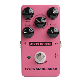 Efectos de modulación en Línea-Aural Dream Truth Modulation Efectos de modulación digital Flanger, Chorus, Vibrato, Tremolo, Doubling, Phase, Ring, Pitchshift