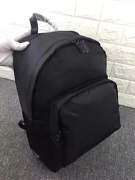 High quality nylon bag men famous designer Travel Bag real leather lady Backpack bag 466