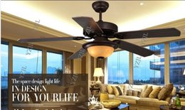 American restaurant ceiling chandelier fan lights Fan LED ceiling light chandelier fan Nordic bedroom Mediterranean living room