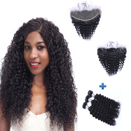 Resika Best Hair Products Brazilian Deep Wave Human Hair With 13x4 100% Remy Hair Ear To Ear Lace Frontal Closure Free Part Natural Color