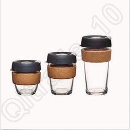 Wholesale KeepCup Brew Glass Reusable Coffee Cup oz KeepCup Coffee Cup Tea Drink Reusable Mug In Stock CCA5616