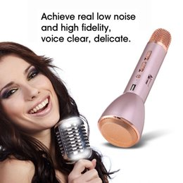 Wholesale Fashion K088 Magic Karaoke Microfone K Song Portable Wireless Bluetooth Microphone With Bluetooth Speaker Power Bank Outdoor KTV Compatible