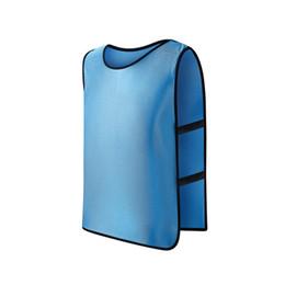 Services de l'équipe à vendre-2017 Breathing Fighting Football Basketball Training Vest Équipement d'équipe pour enfants Publicité Vest Grouping Development Vest Customisation