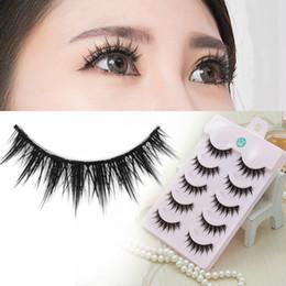 Faux cils épais Style naturel réaliste maquillage nu maquillage étape longue et belle de faux cils à partir de cils de scène fabricateur