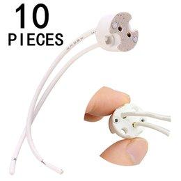 YouOKLight 10PCS Wire Connector Socket for MR16 MR11 G4 Halogen LED Light Lamp Bulb Holder Base Plug Converter