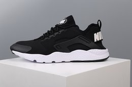 Drop Shipping Wholesale 2017 Men Women Casual Air Mesh New Huarache III Lightweight Breathable Walking Hiking Shoes 36-45